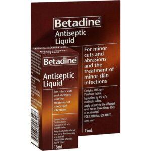 Betadine Solution 15ml