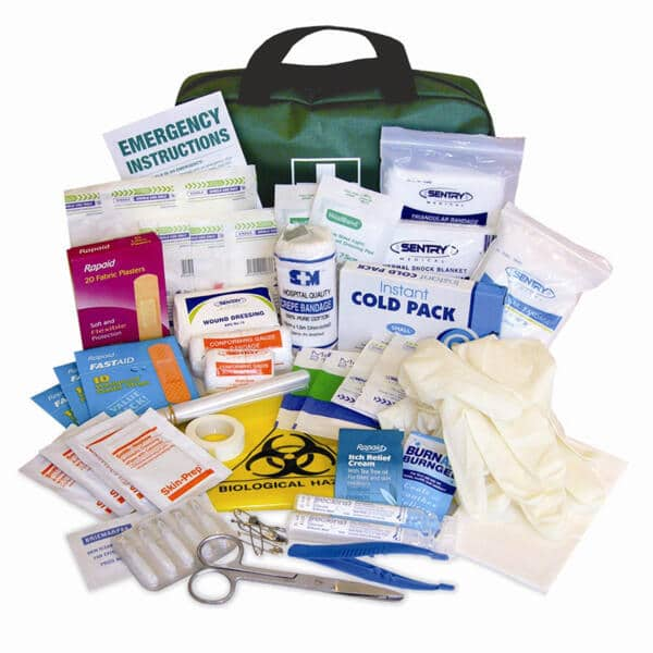 Tradesman First Aid Contents